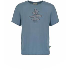 E9 Equilibrium T-Shirt Uomo, blu